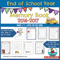 teaching resources, writing prompts, end of school year