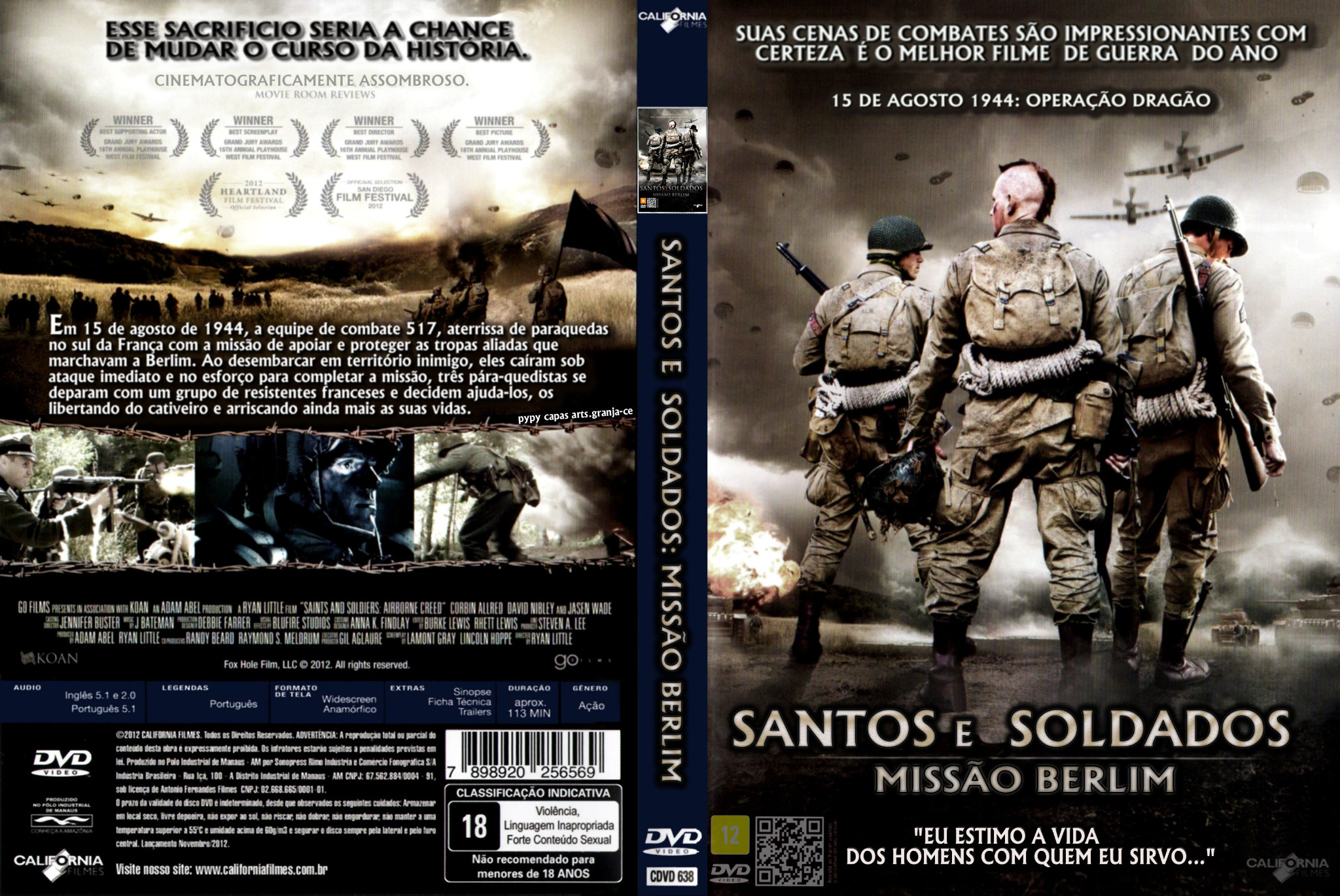 Poster do filme Santos ou Soldados