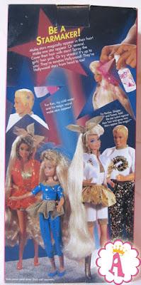 Куклы на коробке Барби стиль Голливуд