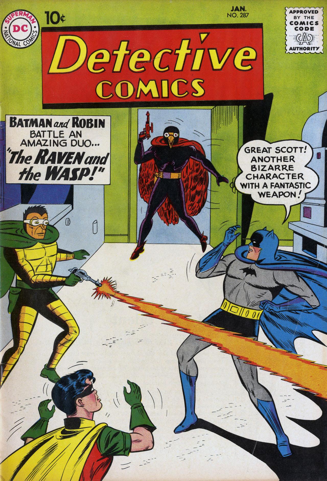 Detective Comics (1937) 287 Page 1