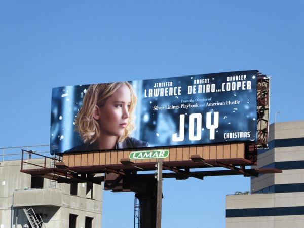 Jennifer Lawrence Joy movie billboard