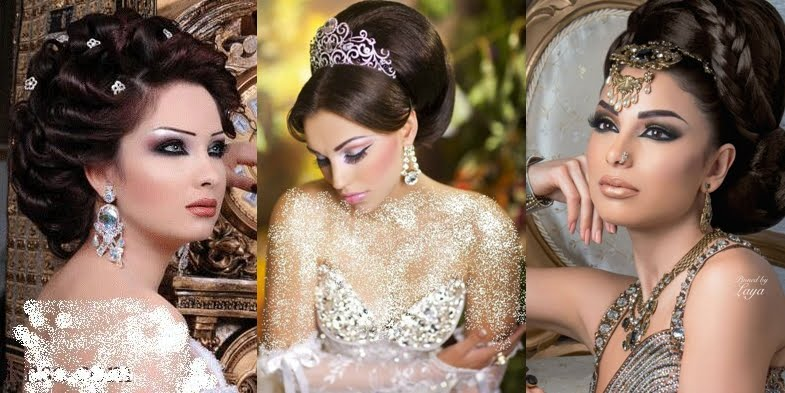 50 Dreamy Wedding Hairstyles For Long Hair: Stunning Arabic Bridal Hairstyles