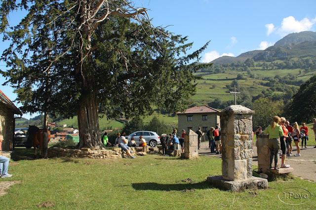 Pedroveya, Desfiladero de las Xanas, Asturias, Ruta