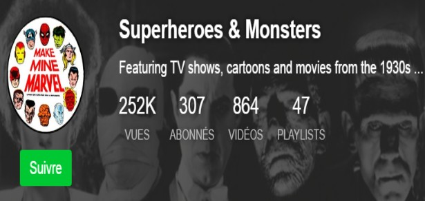 SUPERHEROES & MONSTERS