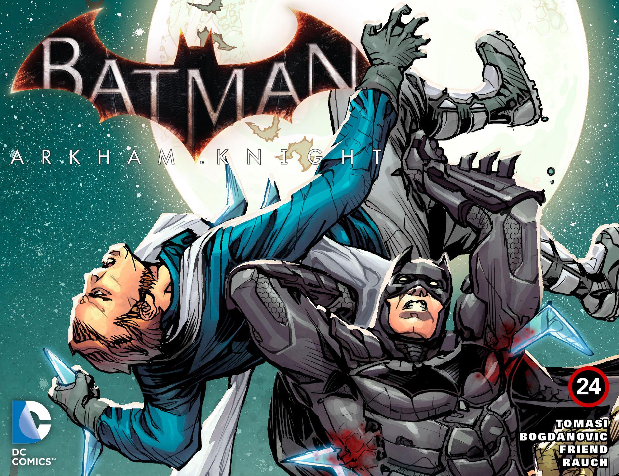 Batman: Arkham Knight [I] 24 Page 1