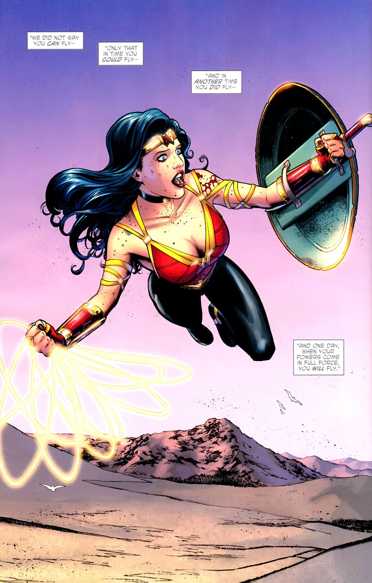 Read online Wonder Woman (2006) comic -  Issue #604 - 21