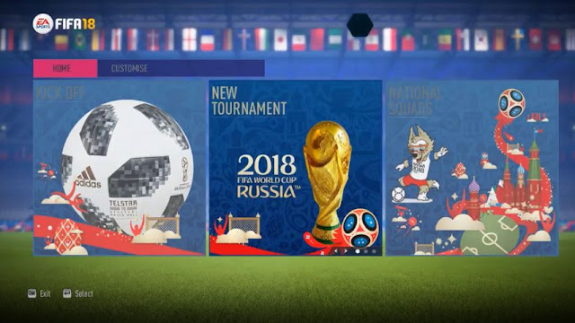 FIFA 14 World Cup Russia 2018 Mod By Medo Gamer
