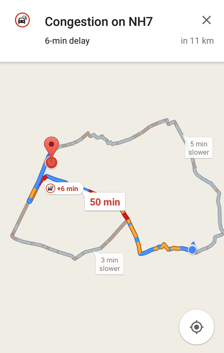 Google Map Now Can Alert You of Traffic Status Ahead In India ... on