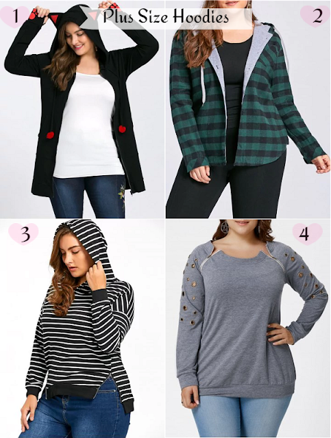 Plus Size Hoodies