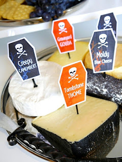 Halloween cheese & wine party