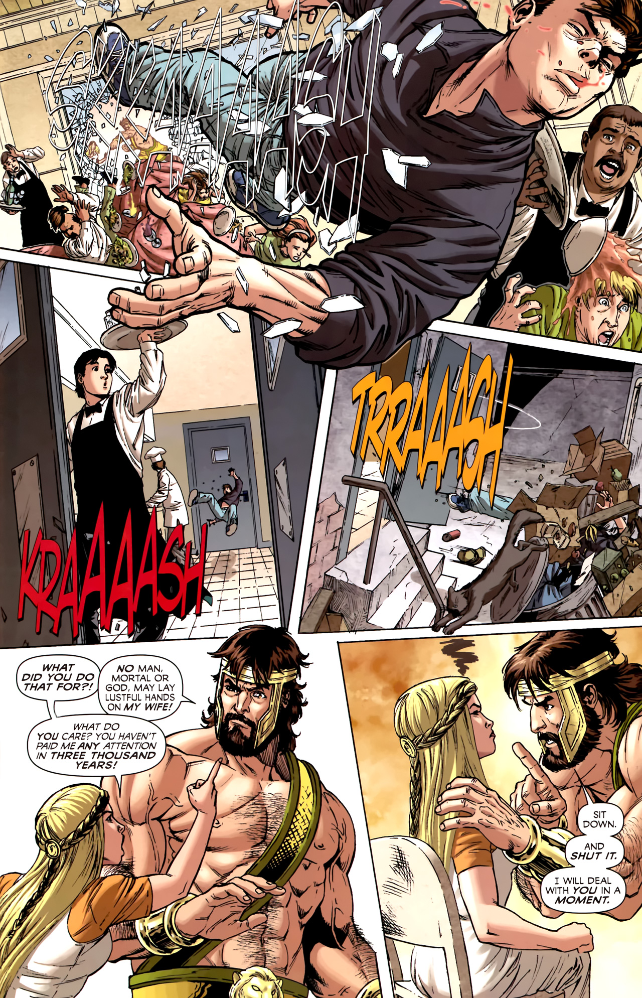 Read online Assault on New Olympus Prologue comic -  Issue #Assault on New Olympus Prologue Full - 16