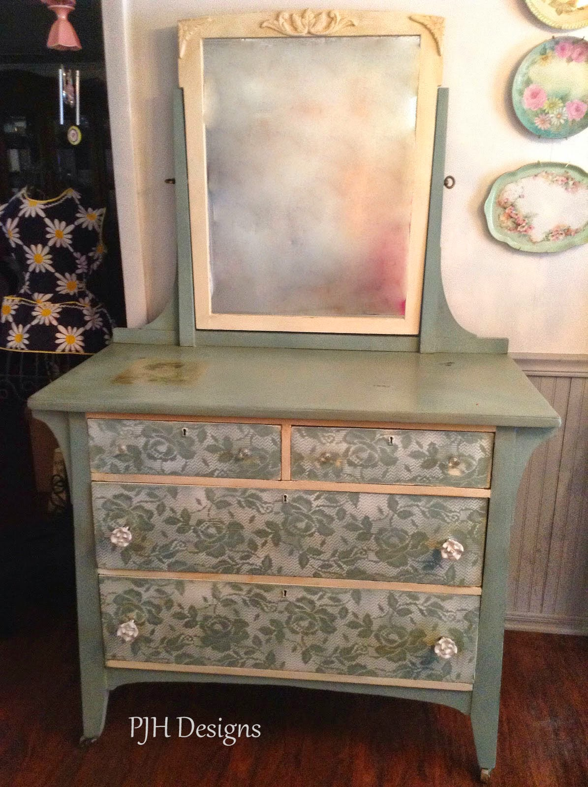 Pjh Designs Hand Painted Antique Furniture Lovely Quot Duck