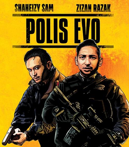 Sinopsis filem Polis Evo, sinopsis penuh, sinopsis lengkap, komen filem Polis Evo, review filem Polis Evo, pelakon dan gambar filem Polis Evo, download Original Sound Track OST Polis Evo, lagu tema filem Polis Evo