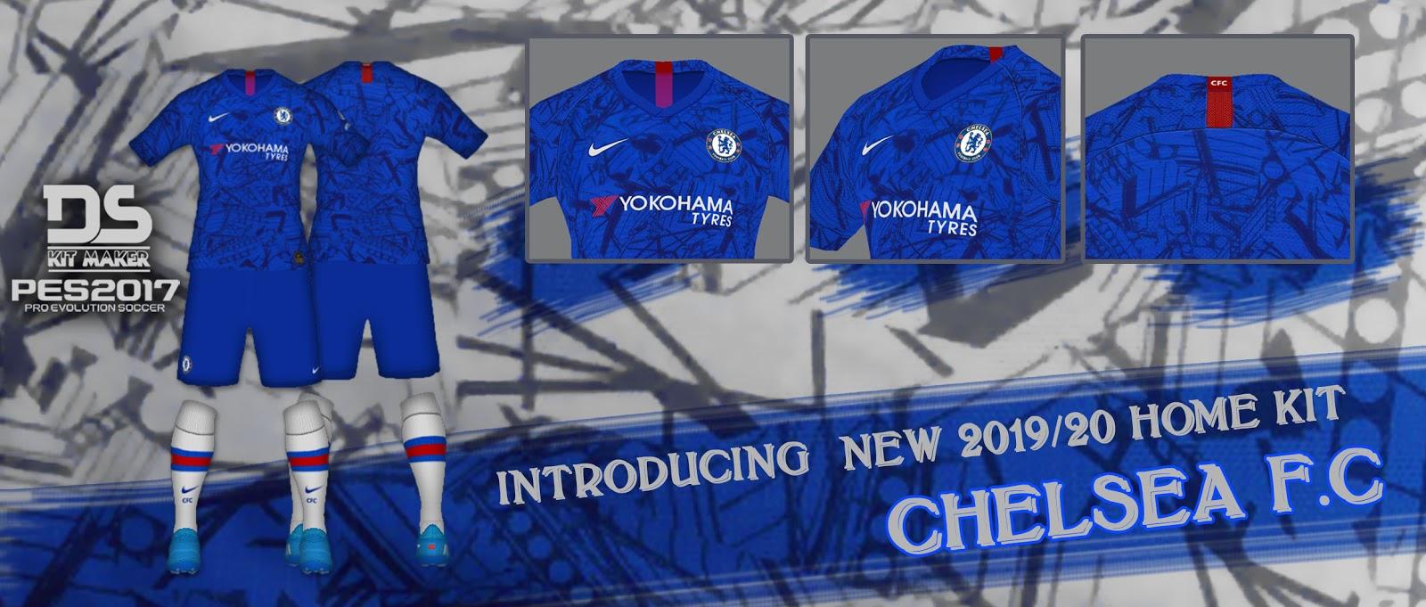 1d6cbf9d Chelsea Kit | Season 2019-20 | PES2017 | PC | Pes Free Downloads