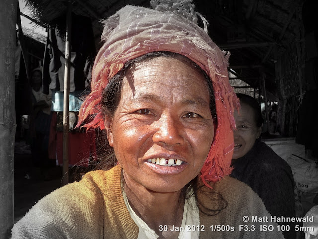 Burma, Myanmar, Inle Lake, Intha woman, Burmese woman, people, street portrait, headshot, Burmese market woman, focal black and white