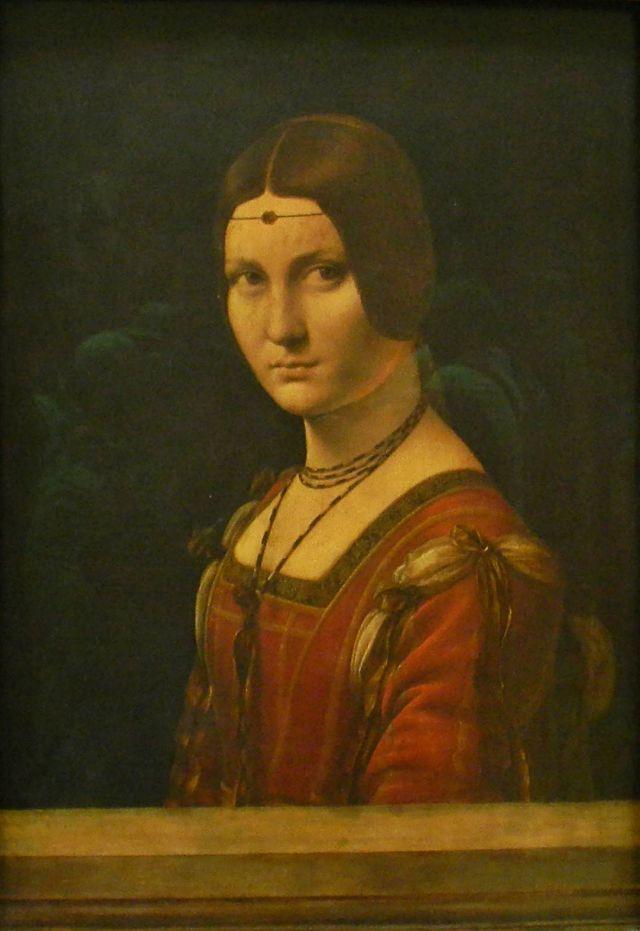 Leonardo da Vinci. Luwr