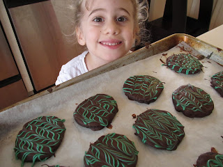 gluten free thin mint cookies