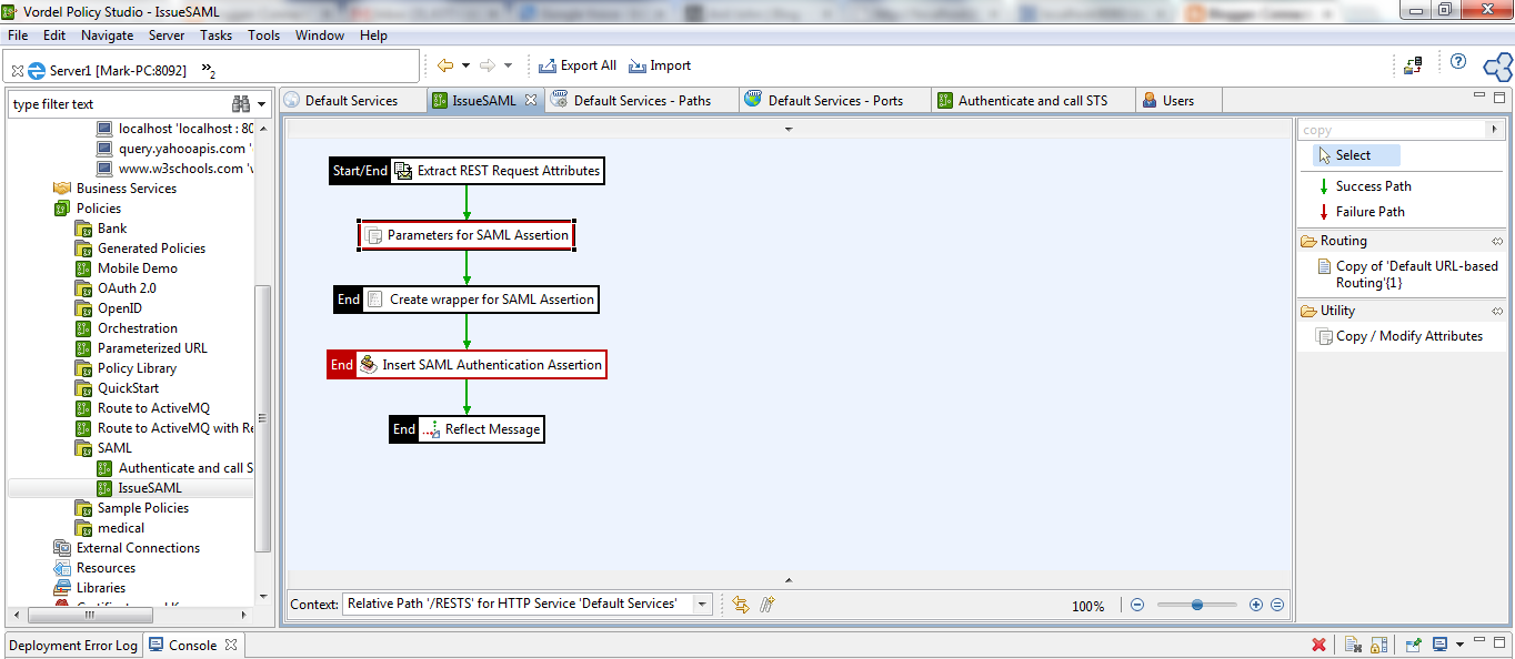 How to Read in a SAML Assertion from a REST STS and Insert it Into a