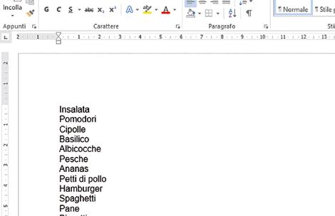 Come creare elenchi puntati in Word