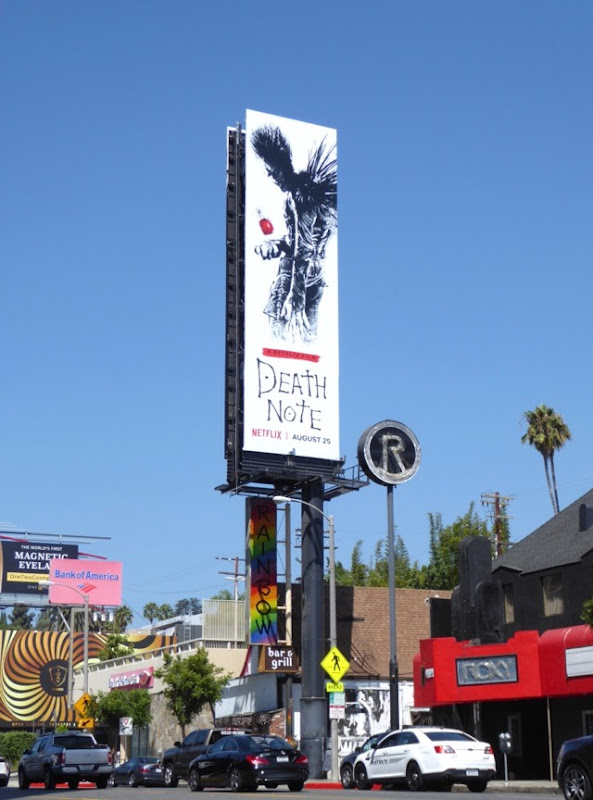 Death Note film billboard