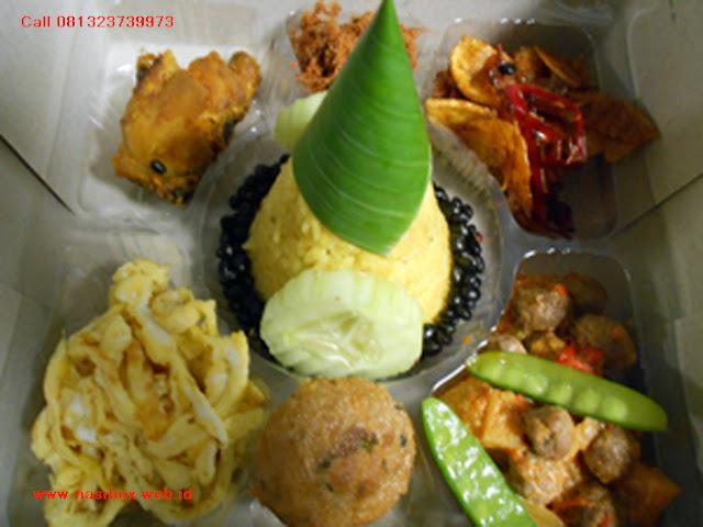 Nasi box tumpeng mini ciwidey