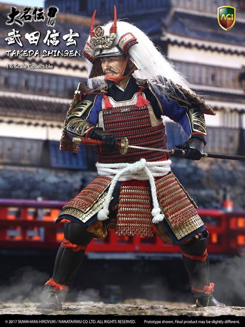 osw.zone ACI TOYS X Suwahara Hiroyuki Daimyo Series: 1/6 scale Takeda Shingen 12-inch action figure