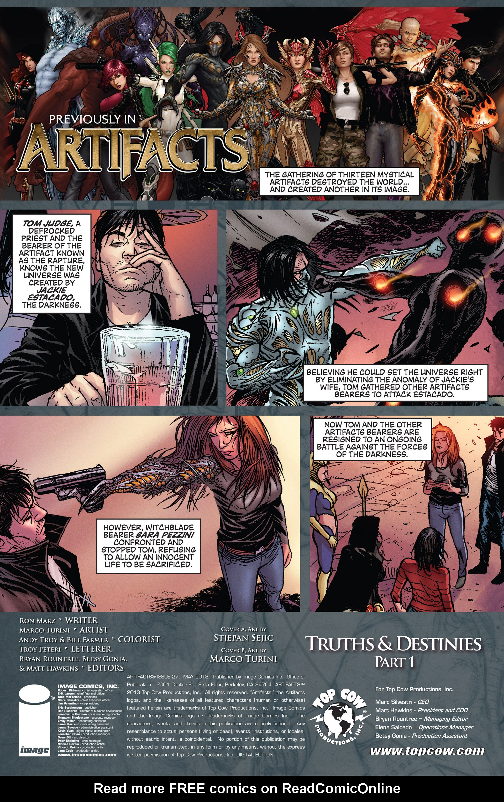 Read online Artifacts comic -  Issue #27 - 4