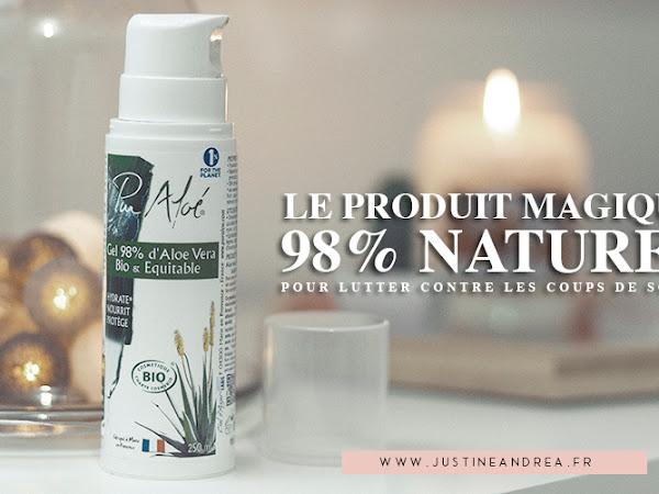 LE produit magique et naturel contre les coups de soleil !