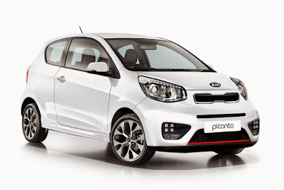 KIA Picanto right side front view Images