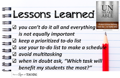 Easy Ways to Prioritize Daily Tasks for Teachers 2