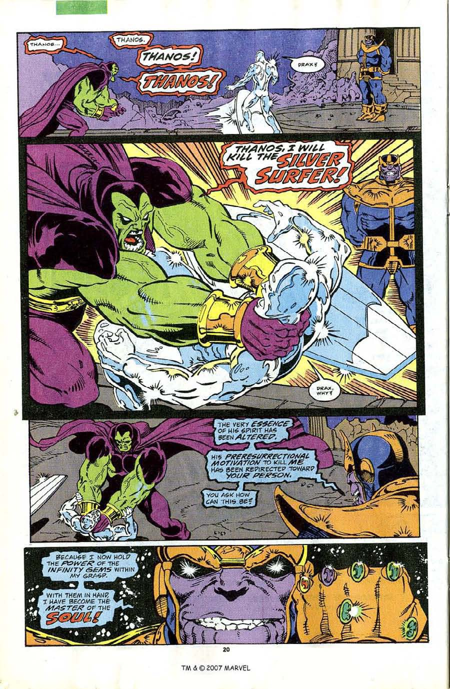 Read online Silver Surfer (1987) comic -  Issue #44 - 22