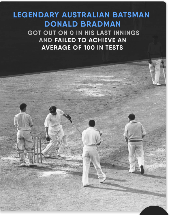 bradman s last innings 100 runs in 3 overs: greatest cricket innings ever at callen park last tuesday' as bradman played at callen park mental bradman's fabulous century.
