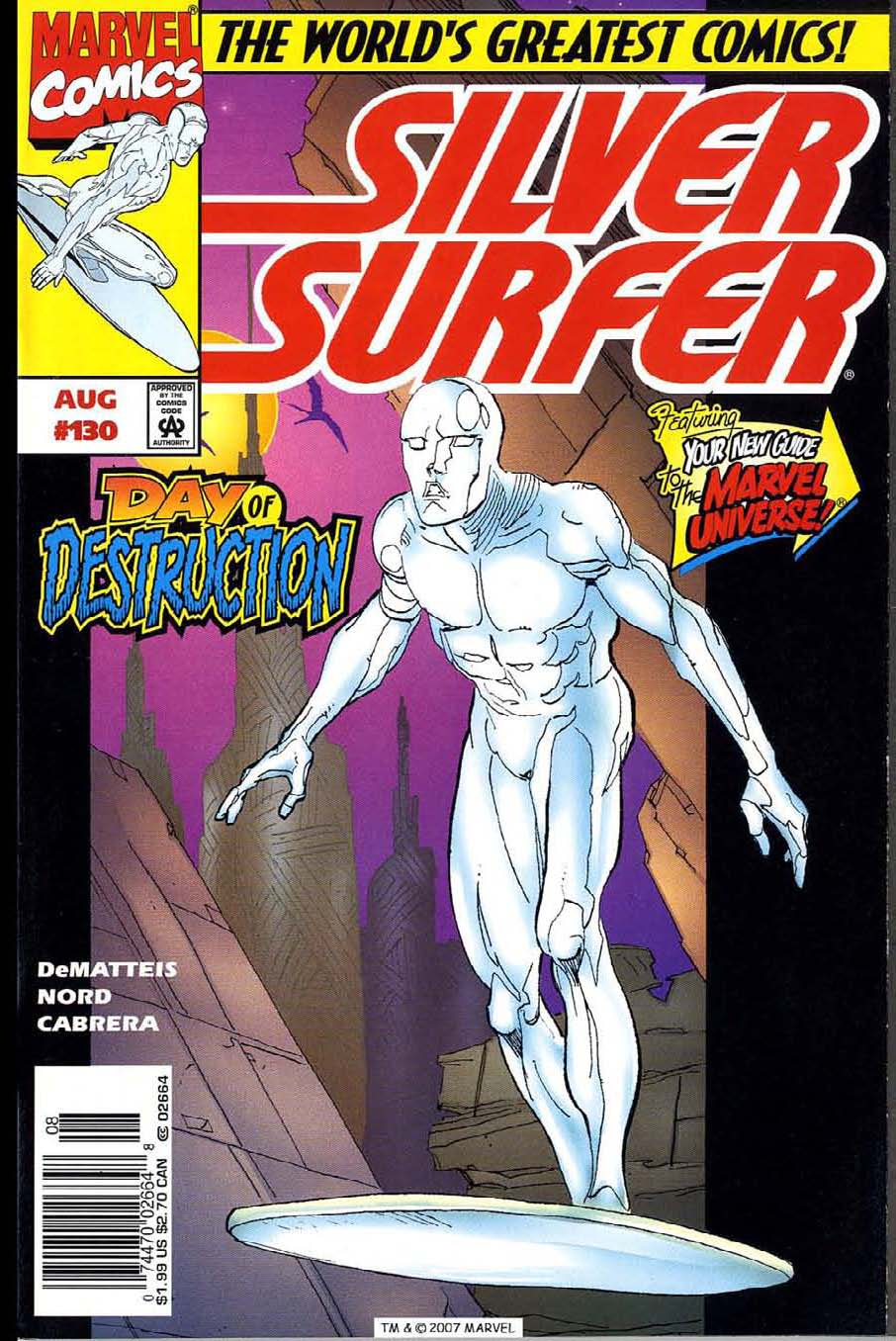Read online Silver Surfer (1987) comic -  Issue #130 - 1