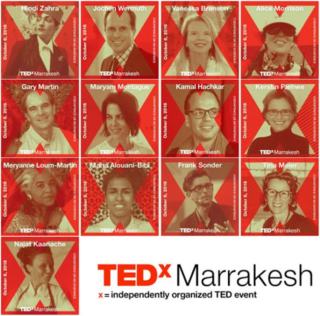 TED, TEDx, Marrakech, TEDxMarrakesh, Redcitypr, coco-morocco, Marrakesh events