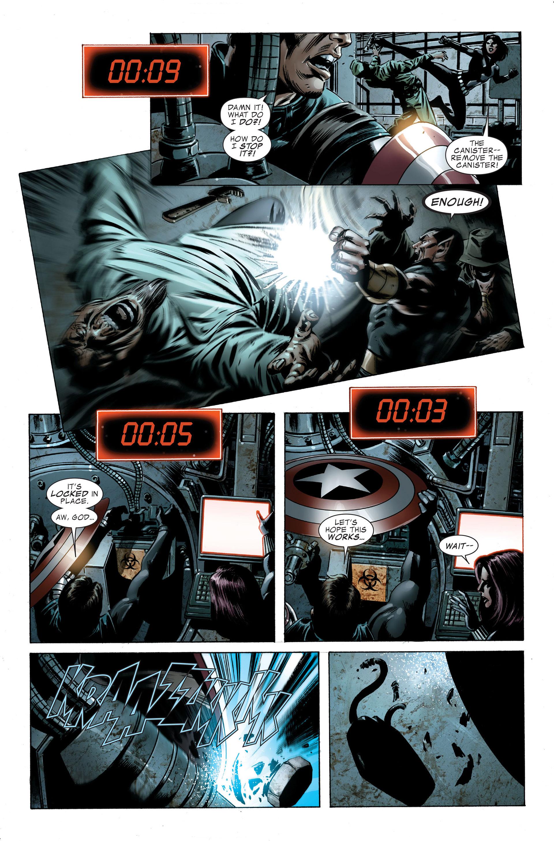 Read online Captain America (2005) comic -  Issue #48 - 17