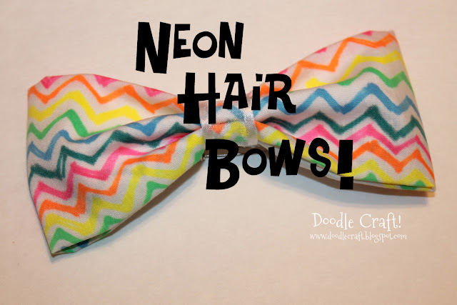 http://www.doodlecraftblog.com/2013/09/neon-sharpie-hair-bows-hot-glue-gun-week.html