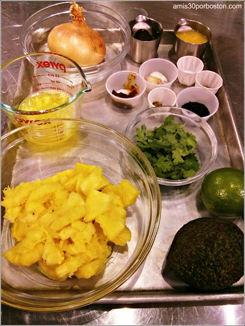 Ingredientes de Tacos de Cerdo al Pastor