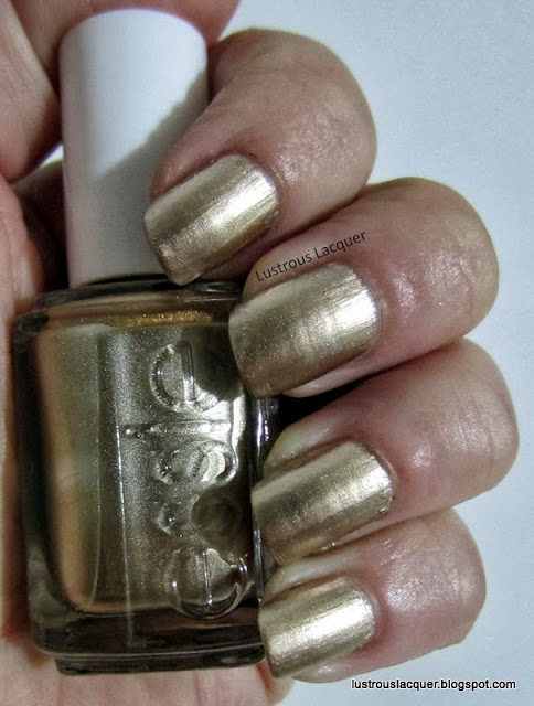 Essie Good as Gold, Mirror Metallic Collection