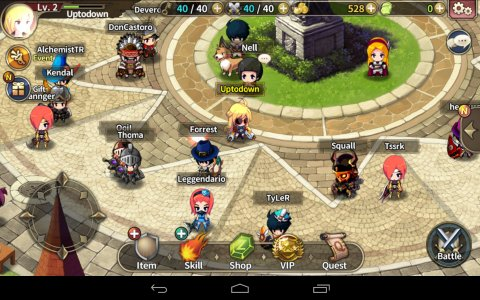Screenshot Download ZENONIA S: Rifts In Time