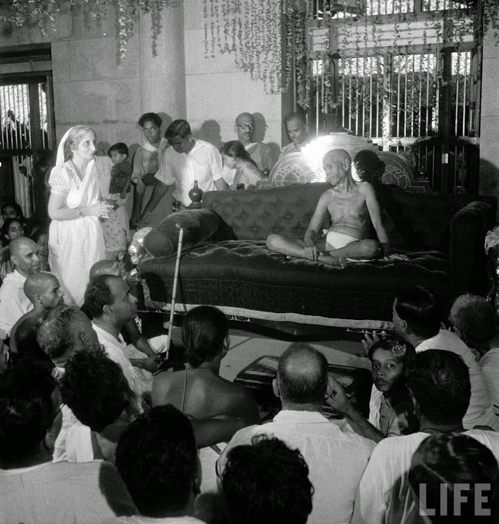 Hindu Spiritual Guru Ramana Maharshi - 1949
