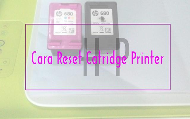 Cara Terbaru Reset Catridge Printer HP - Google