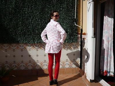 grainline studio archer shirt buttonup modistilla de pacotilla camisa coseconmigo doble mider masustak eguzkitan nekane non dado titarea tela flamencos