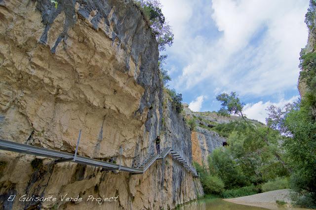 Pasarelas del Río Vero - Alquézar por El Guisante Verde Project