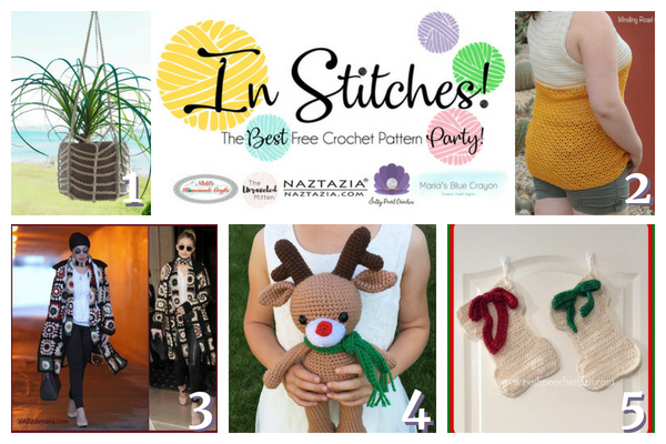 Best Free Crochet Patterns In Stitches Link Up Party 15 Marias