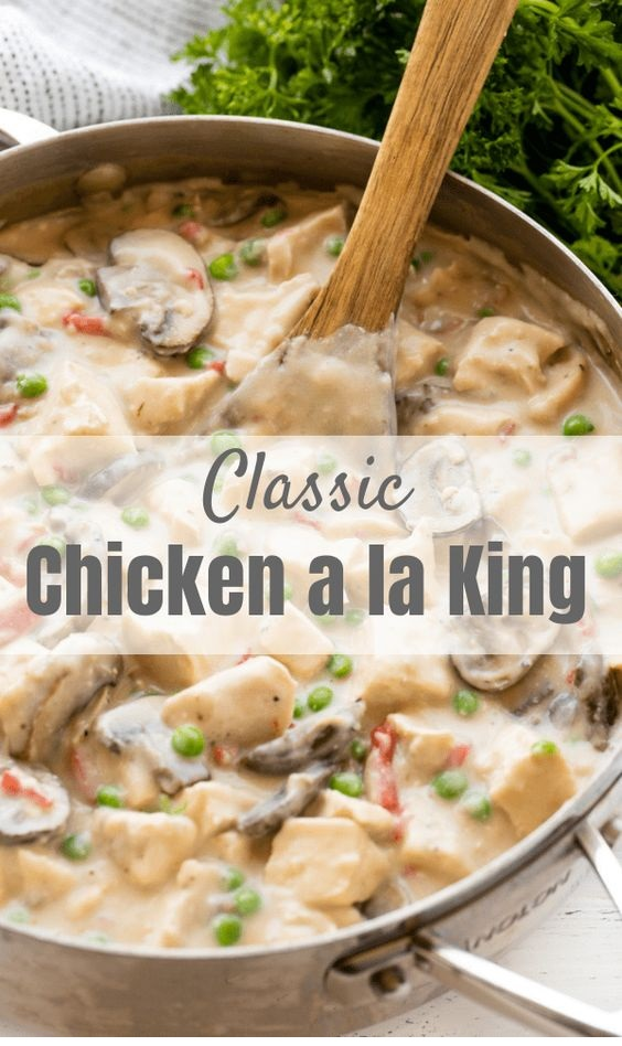 Classic Chicken A La King