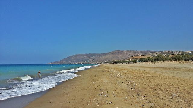 piaszczyste plaże+Grecja+wysypy
