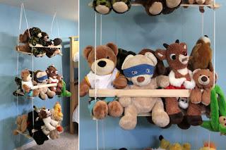 Cara Memajang Mainan Di Kamar Tidur Anak