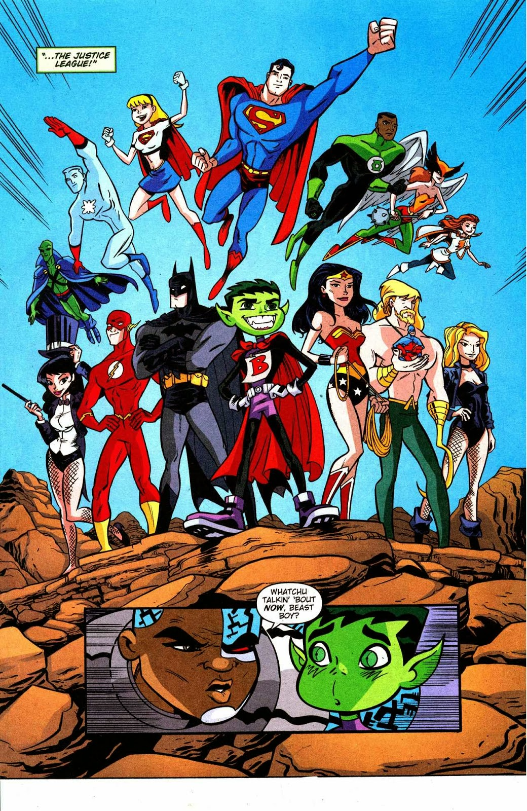 Cyborg Teen Titans Story-1391