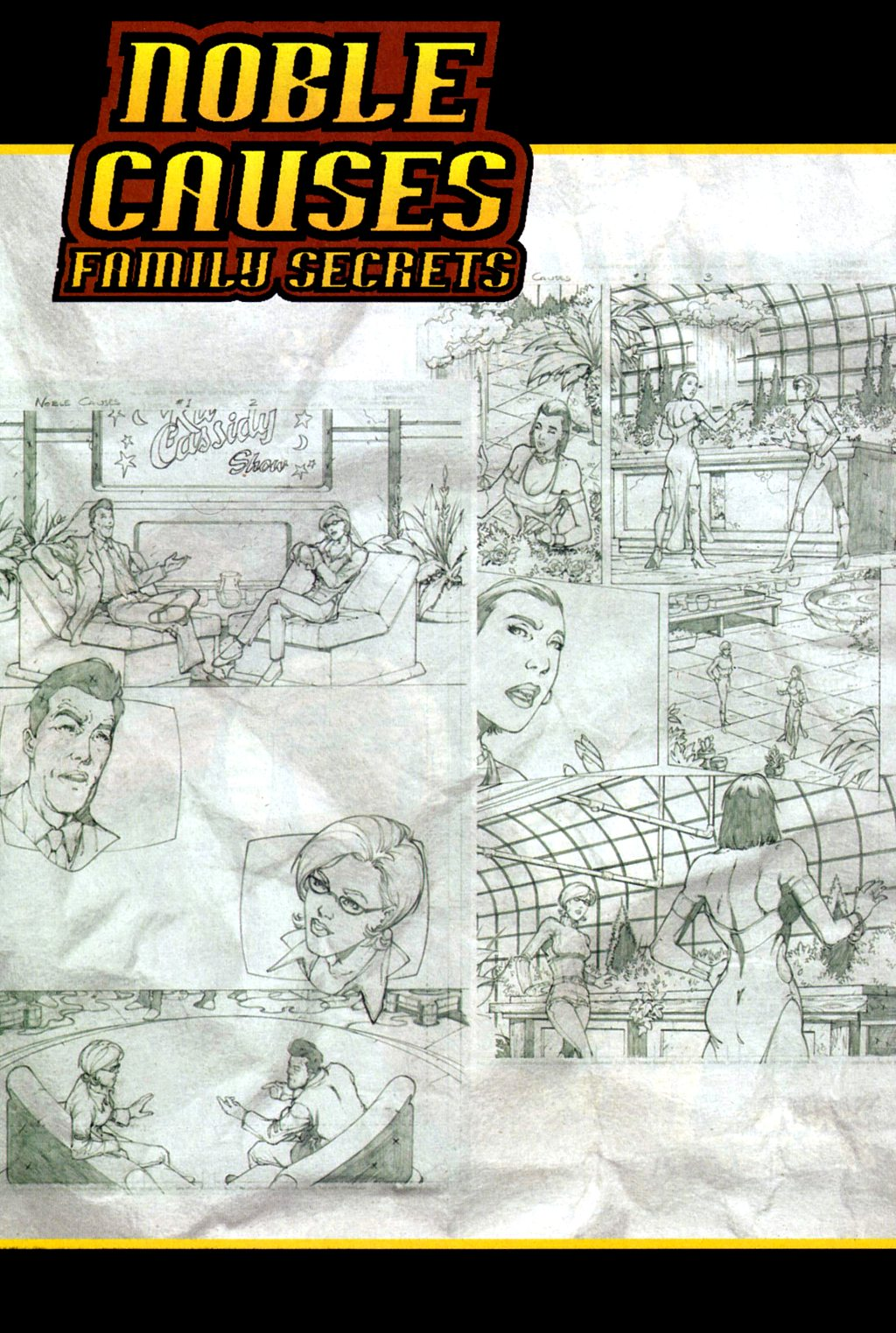 Read online Noble Causes (2002) comic -  Issue #4 - 29
