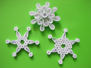 ornamente quilling pentru brad